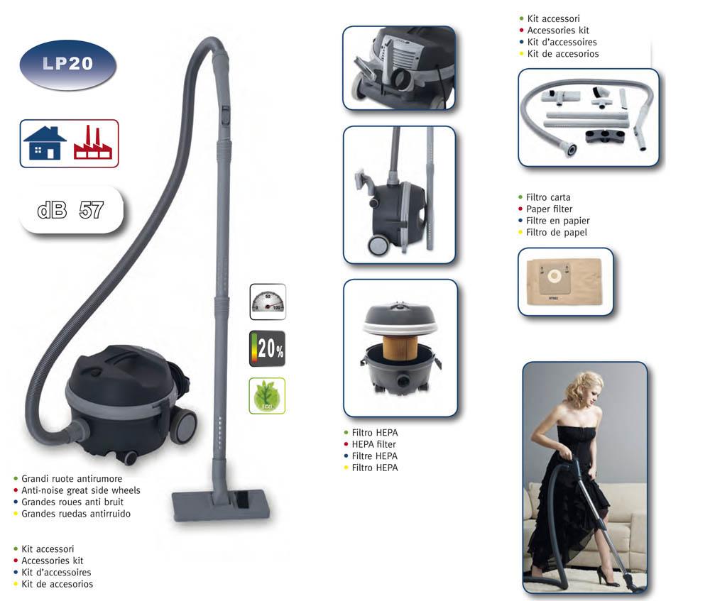 aspirateur ecologique avec accessoires filtre hepa et en. Black Bedroom Furniture Sets. Home Design Ideas
