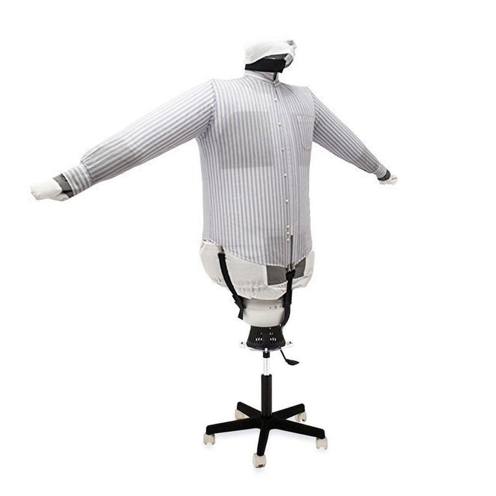 seche et repasse chemise mannequin de repassage sa05 s inox ebay. Black Bedroom Furniture Sets. Home Design Ideas